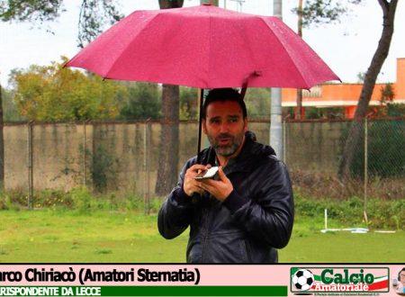 LECCE | 07G | Il punto e l'Intervista di Marco Chiriacò (Amatori Sternatia)