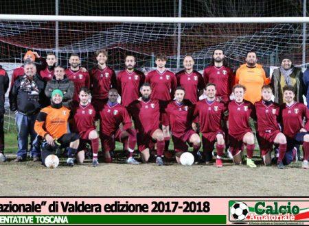 TOSCANA | Rappresentativa | Valdera passa a Pisa (0-2), i Campioni d'Italia soffrono, ma vincono…